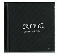 Carnet 2008-2013
