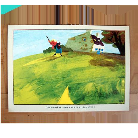 Carte Postale Viltansous