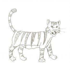 Tigre Habillé