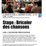 BRICOLER DES CHANSONS