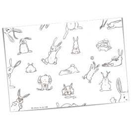 Coloriage Lapins