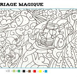 Coloriage Magique #3
