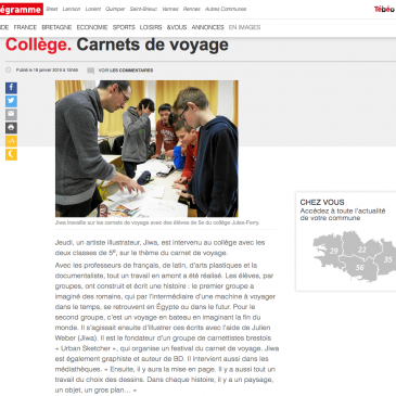 Carnets au Collège