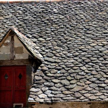 La Lauze sur les toits