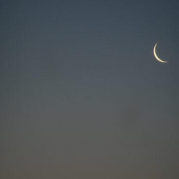 Mon lever de Lune