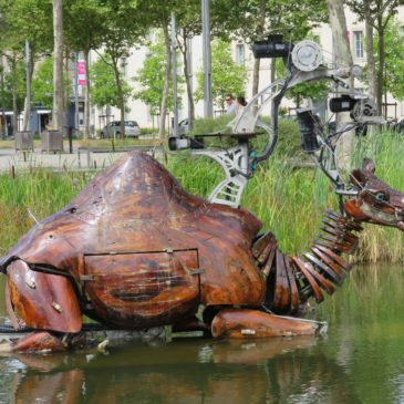 Et un dromadaire à Nantes
