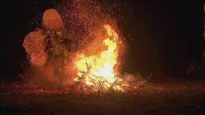 Papouasie danse du feu